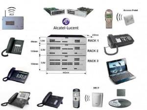Τηλεφωνικά κέντρα Alcatel Omni PCX Office
