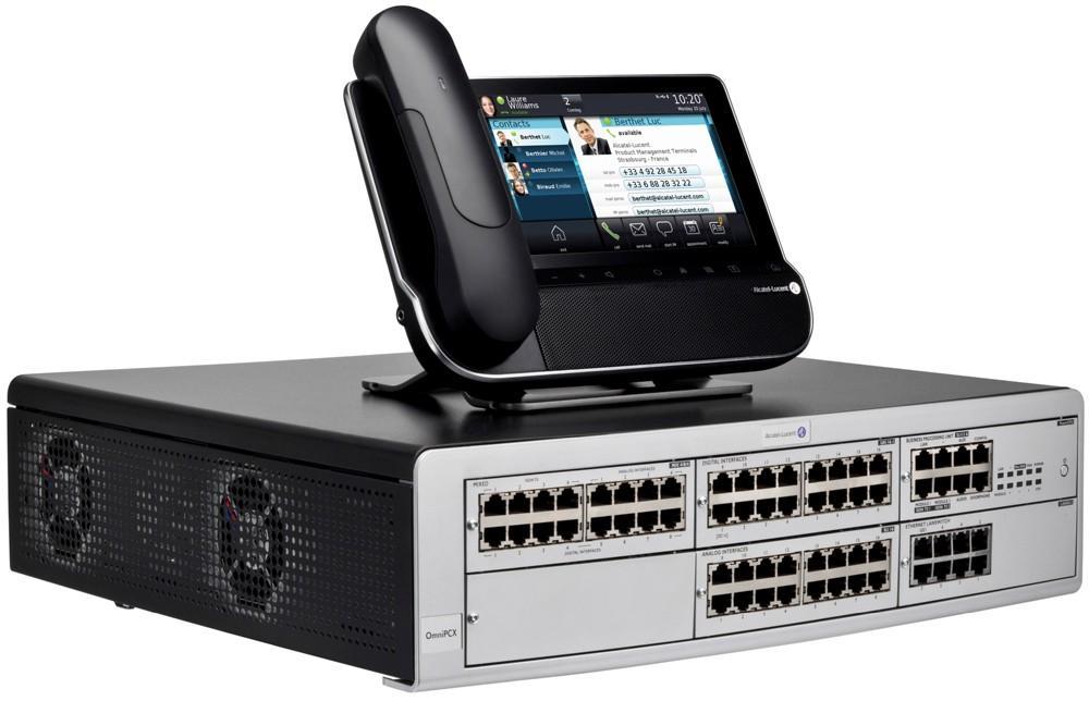 Τηλεφωνικά κέντρα Alcatel Lucent Omni PCX Office